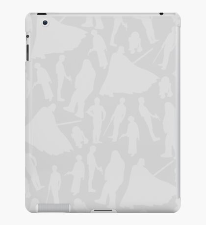 Print-cess Leia & Friends (in The Light Side Color Scheme) iPad Case/Skin