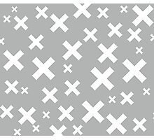Multiply Grey Photographic Print