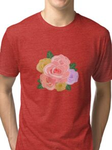 Rose Blossoms Tri-blend T-Shirt