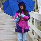 Enjoying A Rainy Day by Laurie Puglia