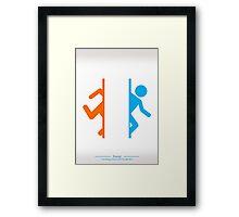 Still Alive - Portal Framed Print