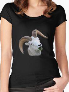 Ram Portrait Women's Fitted Scoop T-Shirt
