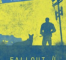 Fallout 4 game poster by HAPPYDOOMSDAY