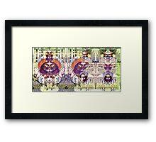 One Dollar. Framed Print