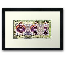 One Dollar. Framed Print