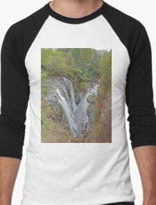 Guide Falls & Gorge Men's Baseball ¾ T-Shirt