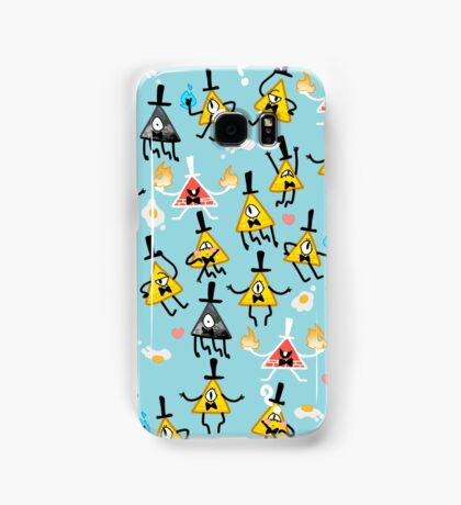 Bill Cipher + Eggs Samsung Galaxy Case/Skin