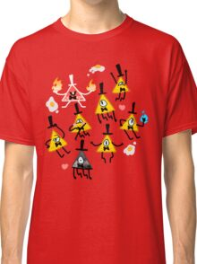 Bill Cipher + Eggs Classic T-Shirt
