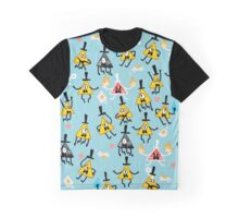 Bill Cipher + Eggs Graphic T-Shirt