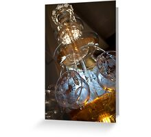 Cocktail Fountain  Greeting Card