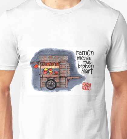 The Ramen Vendor's Cart Unisex T-Shirt