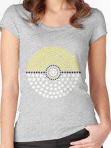 Jolteon Pokeball Women's Fitted Scoop T-Shirt
