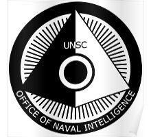 Halo - ONI Insignia (Black) Poster