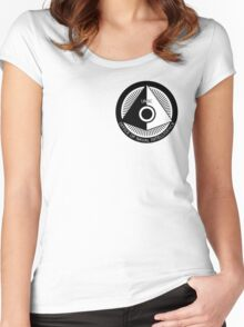 Halo - ONI Insignia (Black) Women's Fitted Scoop T-Shirt