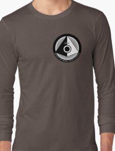 Halo - ONI Insignia (Black) Long Sleeve T-Shirt