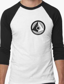 Halo - ONI Insignia (Black) Men's Baseball ¾ T-Shirt