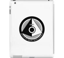 Halo - ONI Insignia (Black) iPad Case/Skin