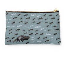 The dead ants and the anteater Studio Pouch