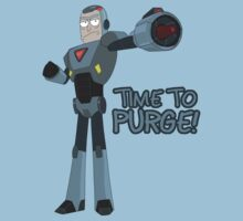 Rick and Morty – Time to Purge! Kids Tee