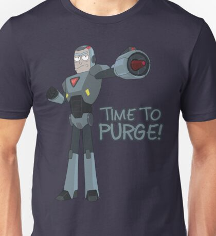 Rick and Morty – Time to Purge! Unisex T-Shirt