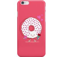 The Donut Valentine iPhone Case/Skin