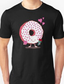 The Donut Valentine Unisex T-Shirt