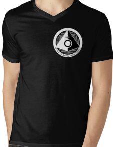 Halo - ONI Insignia (White) Mens V-Neck T-Shirt