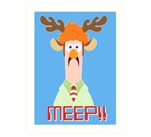 Meep Meep! Art Print
