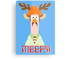 Meep Meep! Metal Print