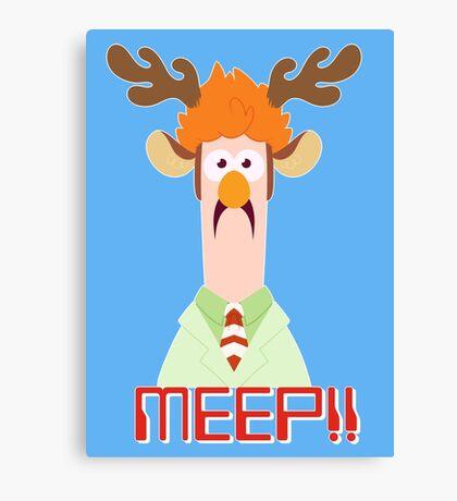 Meep Meep! Canvas Print