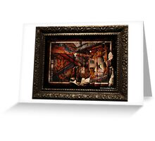 Lissan House Staircase Greeting Card