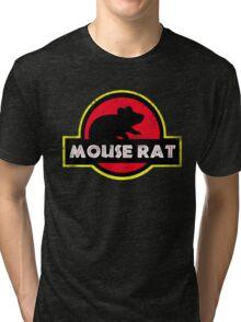 Mouse Rat Distressed Tri-blend T-Shirt