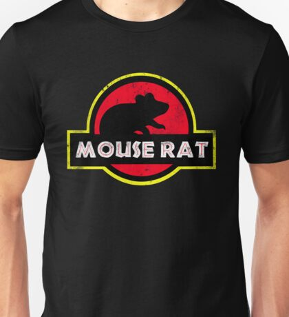 Mouse Rat Distressed Unisex T-Shirt