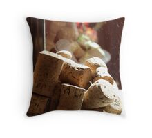 Caught by the morning sun Throw Pillow