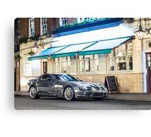 Chrome Mercedes-Benz SLR McLaren Canvas Print