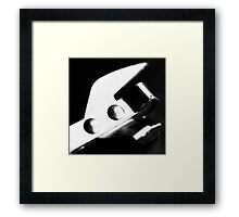 Tin Opener Framed Print