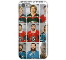 The Evolution of Brent Burns iPhone Case/Skin