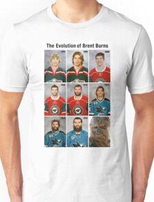 The Evolution of Brent Burns Unisex T-Shirt