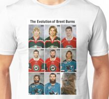 The Evolution of Brent Burns Unisex T-Shirt