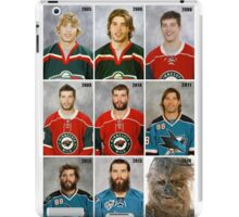 The Evolution of Brent Burns iPad Case/Skin