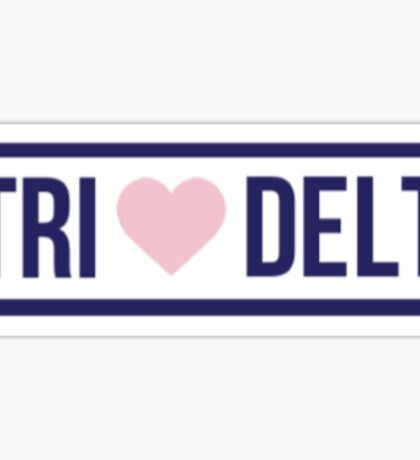 Brandy Melville Tri Delt Sticker