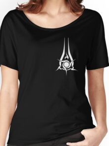 Halo: Guardians - Sword of Sanghelios (White) Women's Relaxed Fit T-Shirt