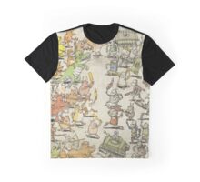 Dance Gavin Dance Instant Gratification Album Cover Graphic T-Shirt