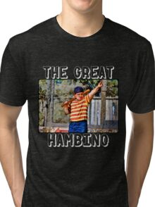 the great hambino - the sandlot Tri-blend T-Shirt