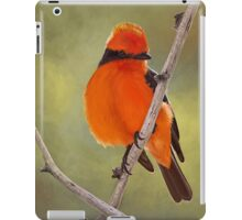 Vermillion Flycatcher iPad Case/Skin