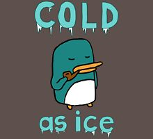 Cold As Ice - Penguin Stays Frosty and Smokes Soothing Pipe T-Shirt