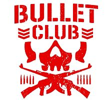 Bullet Club: Red Photographic Print