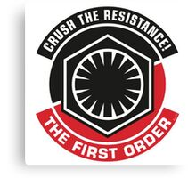 Star Wars: Crush the Resistance Canvas Print