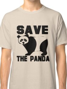 SAVE THE PANDA Classic T-Shirt