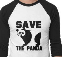 SAVE THE PANDA Men's Baseball ¾ T-Shirt